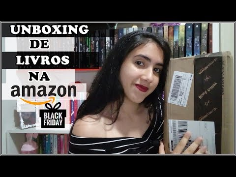 UNBOXING | AMAZON | BLACK FRIDAY | Leticia Ferfer | Livro Livro Meu