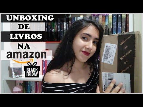 UNBOXING | AMAZON | BLACK FRIDAY | Leticia Ferfer | Livro Livro Meu