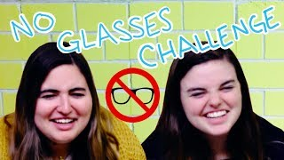 HOW BLIND ARE WE? | No Glasses Challenge