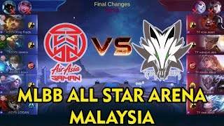 Fredo Clint Mengganas !! AirAsia Saiyan vs Traitor MLBB ALL STAR ARENA MALAYSIA