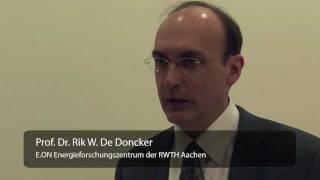 3 Fragen an Dr. De Doncker zur Zukunft der Energienetze
