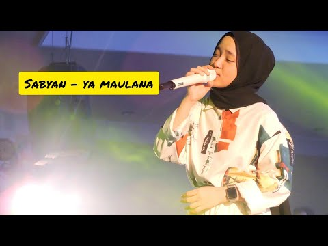 Sabyan - Ya Maulana Live At Kito Convention Hall Medan