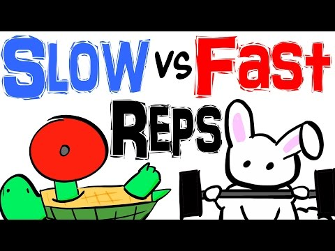 The Different Benefits Of Slow And Fast Reps