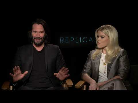 Interview: Keanu Reeves and Alice Eve Talk 'Replicas' Movie and Science Gone Too Far