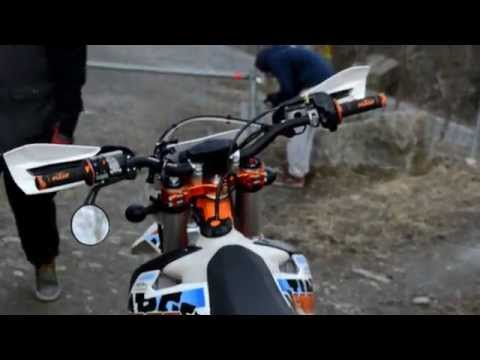 Test drive KTM exc 125 sixdays