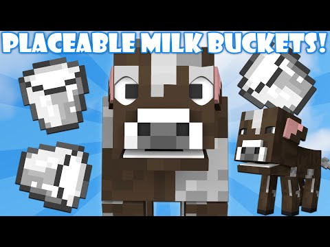 Why You Can't Place Milk Buckets - Minecraft