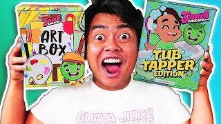 *NEW* GUAVA JUICE BOX Artsy Box Edition and MORE! (Unboxing)