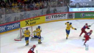 Russia-Sweden/Finland-WorldChampionIceHockey 2012 Highlights Все Голы