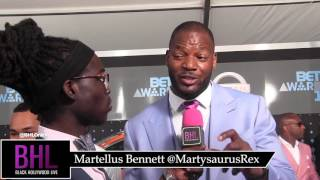 Martellus Bennett shares about his love for Tom Brady and Aaron Rodgers and refocusing after winning