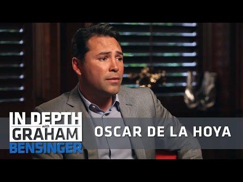 Oscar De La Hoya: Friends put a gun to my head