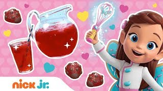 Chocolate Covered Strawberries Valentine's Day Recipe 🐞Butterbean's Café | Nick Jr.