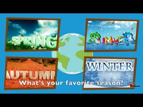 Seasons, weather and clothes