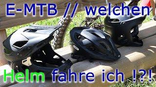eBike // eMTB welchen Helm fahre ich und warum !?!