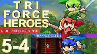 Soluce Tri Force Heroes : Niveau 5-4