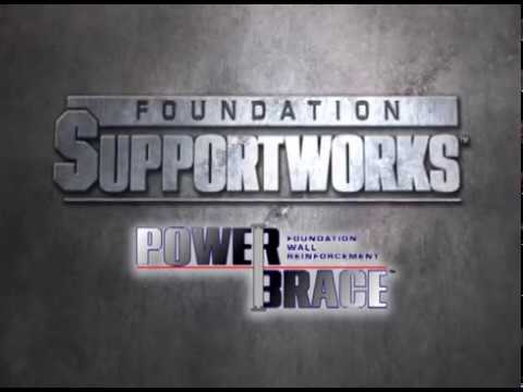 Foundation SupportWorks PowerBrace™ System is designed to stabilize and in most cases straighten bowing or tipping walls.