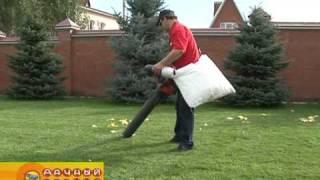 Измельчители и садовые пылесосы видео