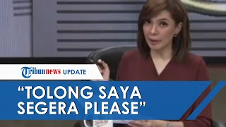 Viral Tulisan Minta Tolong di Secarik Kertas saat Live Mata Najwa, Najwa Shihab Ungkap Kondisinya