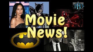 Movie News! Zoe Kravitz Cast as Catwoman! Apology to Robert Pattinson!