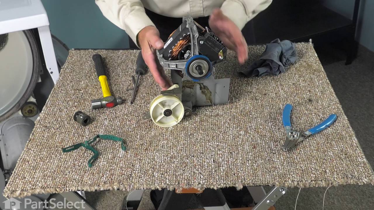 Replacing your Maytag Dryer Drive Motor - 60Hz 115V