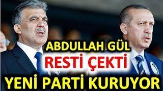 Ankara'da Abdullah Gül parti kuruyor! Mart yerel seçimlerin son anketlerinde Cumhur ittifakı oyu ne?