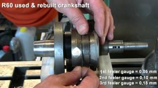 BMW R60 & R67/2 crankshaft check
