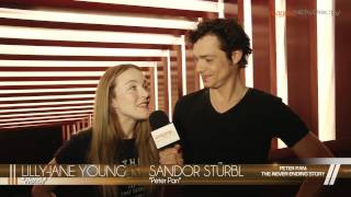 Interview with Peter Pan & Wendy Darling (Peter Pan: The Never Ending Story)