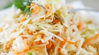 Капуста маринованная быстрого приготовления   Хрустящая капуста