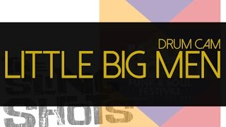 Edu Neto Drum Cam - The Slingshots - Little Big Men (live Switzerland. October 2014)