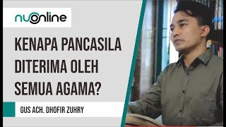 Kenapa Pancasila diterima oleh semua Agama?