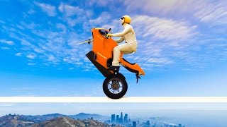 HARDEST MOTORBIKE RACE EVER CREATED! (GTA 5 Funny Moments)