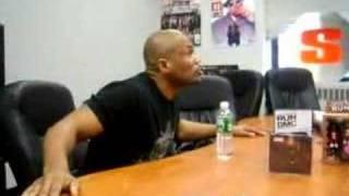 DMC says: Aint no Blueprint to Hip Hop (WRONG CROWD)