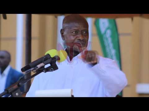 President Museveni commissions 9 factories in Kapeeka
