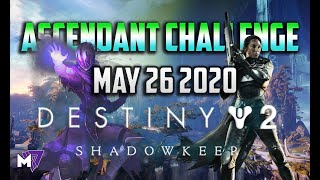 Ascendant Challenge May 26 2020 | Destiny 2 | Corrupted Eggs & Lore Locations