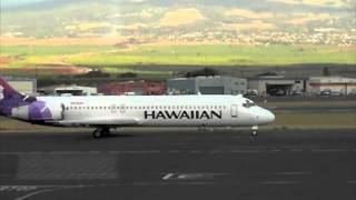 preview picture of video 'HAWAII KAHULUI Airport OGG'