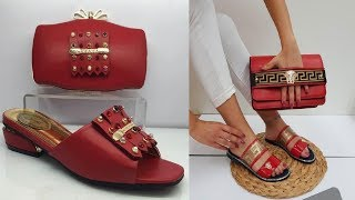GUCCI LATEST COLLECTION OF BAGS & SHOES SET WITH SALE PRICES||SHOES & BAG SET