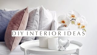 DIY-Interior-Project: 4 Einfache Und Wirkungsvolle Umstyling-Ideen.