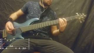 Limp Bizkit - Take A Look Around Bass Cover (Tabs)