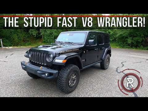 The 2021 Jeep Wrangler Unlimited 392 is an Absurdly Fast & Expensive Go-Anywhere Machine