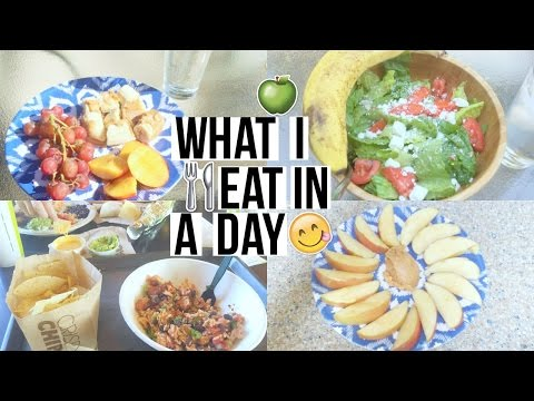 Video HOW TO BE HEALTHY | What I Eat In A Day!