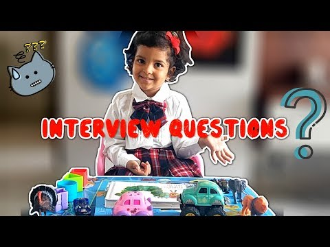 Preschool Interview Questions and Answers for Kids