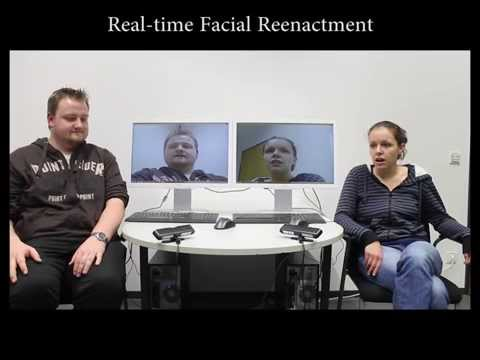 This video system can transfer your facial expressions to another person in real time