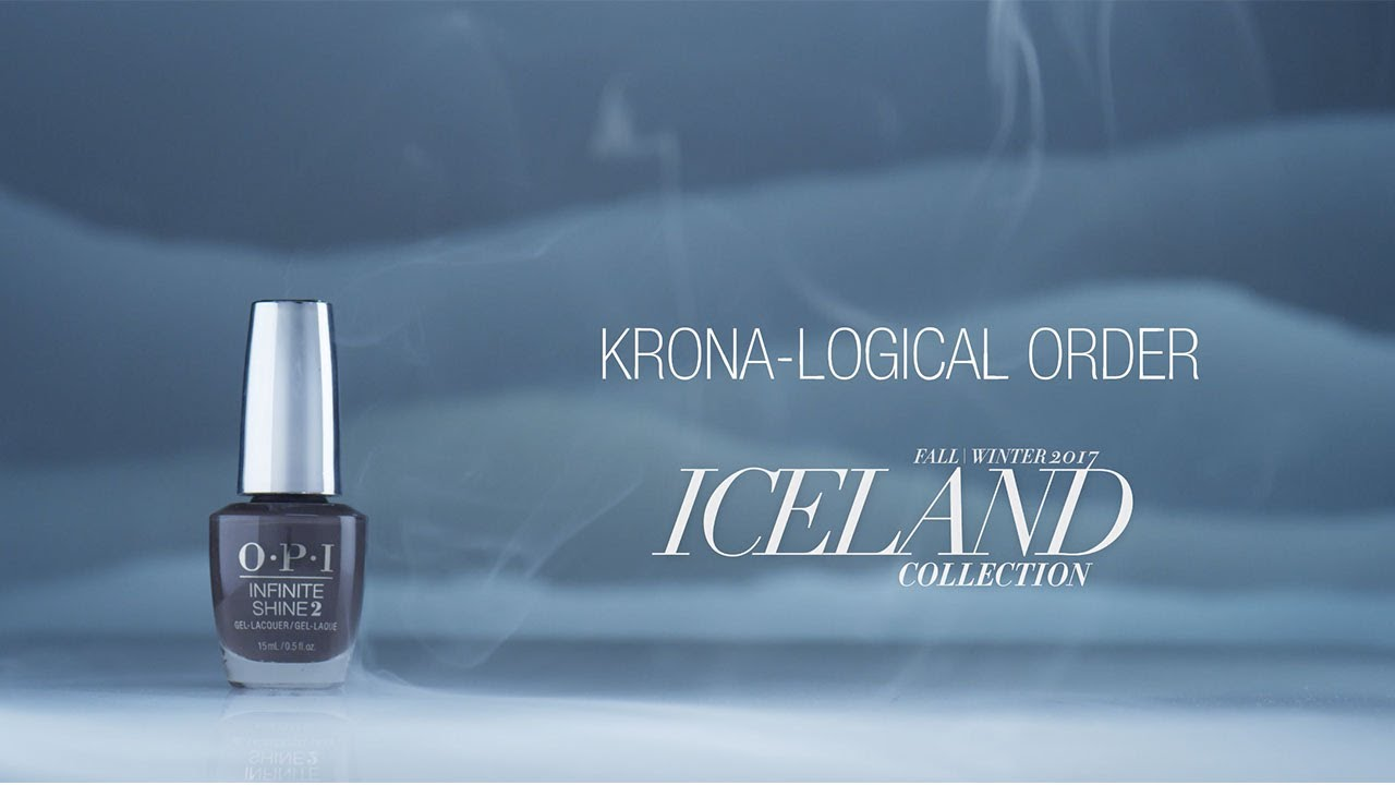 Video:OPI Iceland Shade Story | Krona-Logical Order