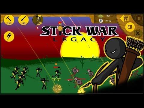 Stick War: Legacy - кампания (сложн) #1