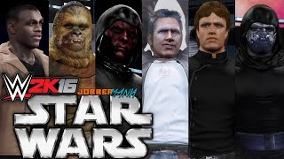 WWE 2K16: Star Wars Elimination Chamber Match
