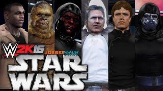 WWE 2K16: Star Wars Elimination Chamber Match
