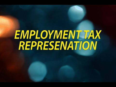 Employment (payroll) taxes
