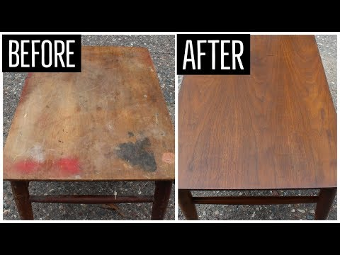I spent just under 14 minutes watching this guy restore a desk and loved every minute of it. This guy should make meditation videos