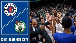 Clippers Largest Comeback In Franchise History At Celtics | 2/9