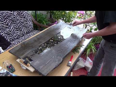 Couchtisch aus Zaunbrettern bauen Teil 2