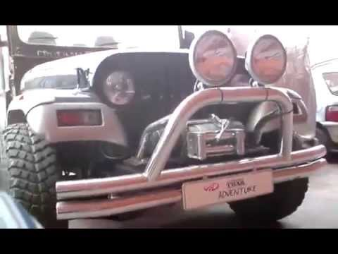 Mahindra Thar Adventure 4x4 Indian off-roader